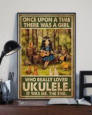 Girl Loved Ukulele 11x17 Poster lifestyle-poster-2