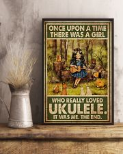 Girl Loved Ukulele 11x17 Poster lifestyle-poster-3