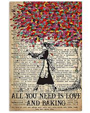 Baker All You Need Is Love And Baking 11x17 Poster front