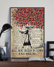 Baker All You Need Is Love And Baking 11x17 Poster lifestyle-poster-2