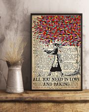 Baker All You Need Is Love And Baking 11x17 Poster lifestyle-poster-3