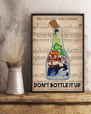Social Worker Don't Bottle It Up 11x17 Poster lifestyle-poster-3