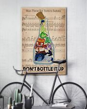 Social Worker Don't Bottle It Up 11x17 Poster lifestyle-poster-7