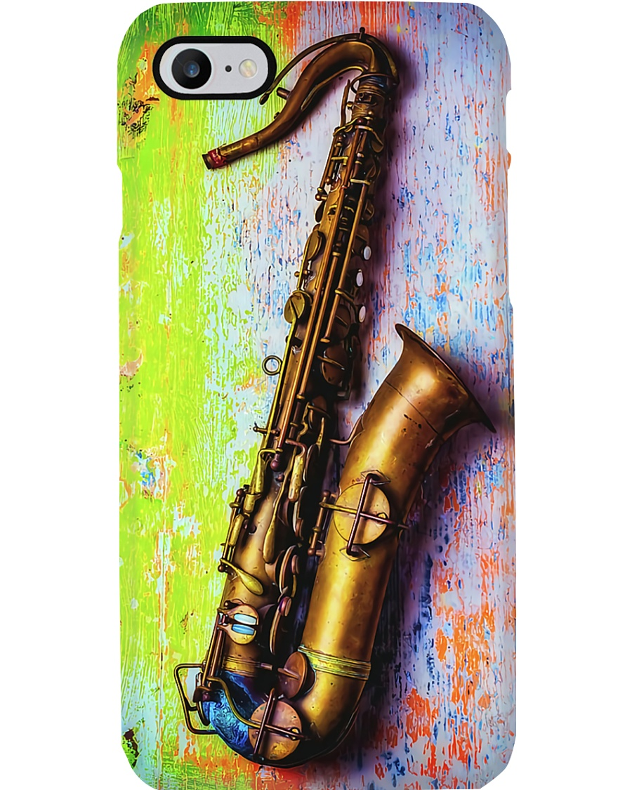 Old Saxophone  Phone Case