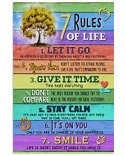 Social Worker 7 Rules Of Life 11x17 Poster front