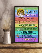 Social Worker 7 Rules Of Life 11x17 Poster lifestyle-poster-3