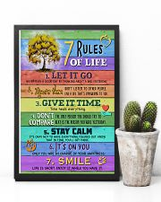 Social Worker 7 Rules Of Life 11x17 Poster lifestyle-poster-8