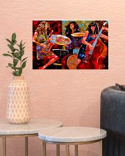 Contrabass Girls 17x11 Poster poster-landscape-17x11-lifestyle-21