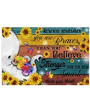 Autism You Are Braver Than You Believe 17x11 Poster front