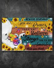 Autism You Are Braver Than You Believe 17x11 Poster poster-landscape-17x11-lifestyle-12
