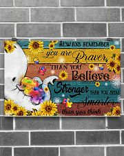 Autism You Are Braver Than You Believe 17x11 Poster poster-landscape-17x11-lifestyle-18