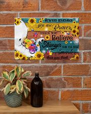 Autism You Are Braver Than You Believe 17x11 Poster poster-landscape-17x11-lifestyle-23