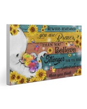 Autism You Are Braver Than You Believe 30x20 Gallery Wrapped Canvas Prints thumbnail
