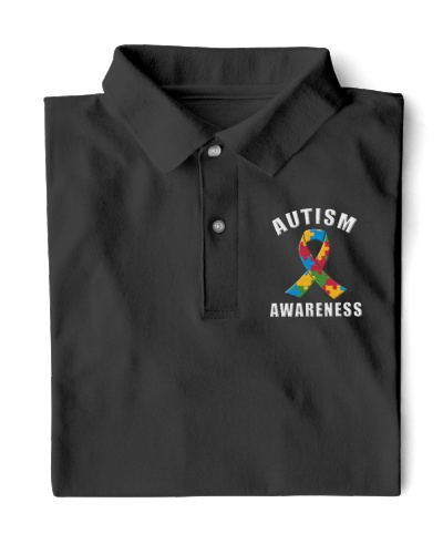 Autism Awareness Polo shirt