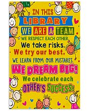 Librarian In This Library 11x17 Poster front