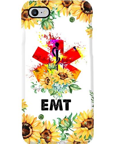 Paramedic EMT Sunflower Logo