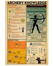 Archery Knowledge 11x17 Poster front