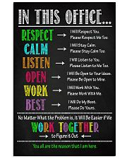 Social Worker We Work Together To Figure It Out 11x17 Poster front