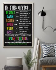 Social Worker We Work Together To Figure It Out 11x17 Poster lifestyle-poster-1