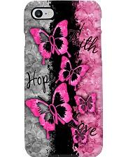 Breast Cancer Awareness Faith Hope Love Phone Case i-phone-7-case