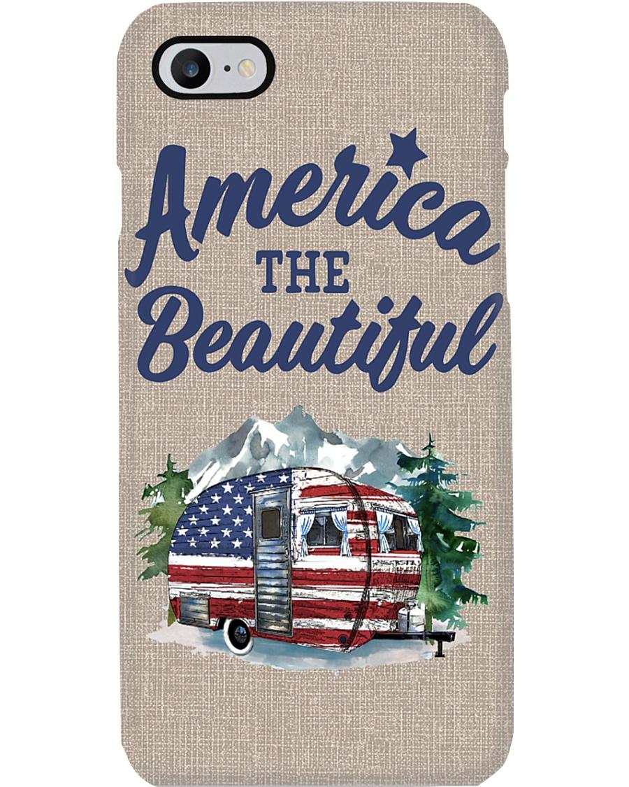 Camping America The Beautiful Camper Phone Case