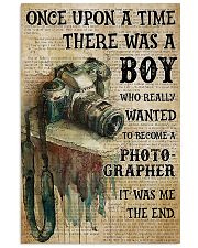 Photographer Once Upon A Time  11x17 Poster front