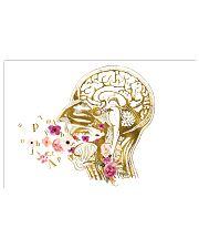 Speech Language Pathologist Head Anatomy 17x11 Poster front