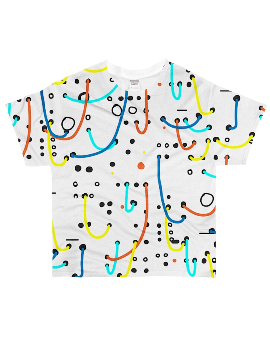 Synthesizer Colorful Modular   All-over T-Shirt