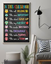 Teacher In This Classroom 11x17 Poster lifestyle-poster-1