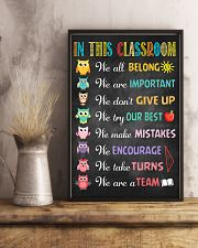 Teacher In This Classroom 11x17 Poster lifestyle-poster-3