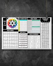 Bass Guitar Chords 17x11 Poster poster-landscape-17x11-lifestyle-12