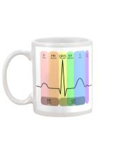 Cardiologist Colorful EKG Mug back