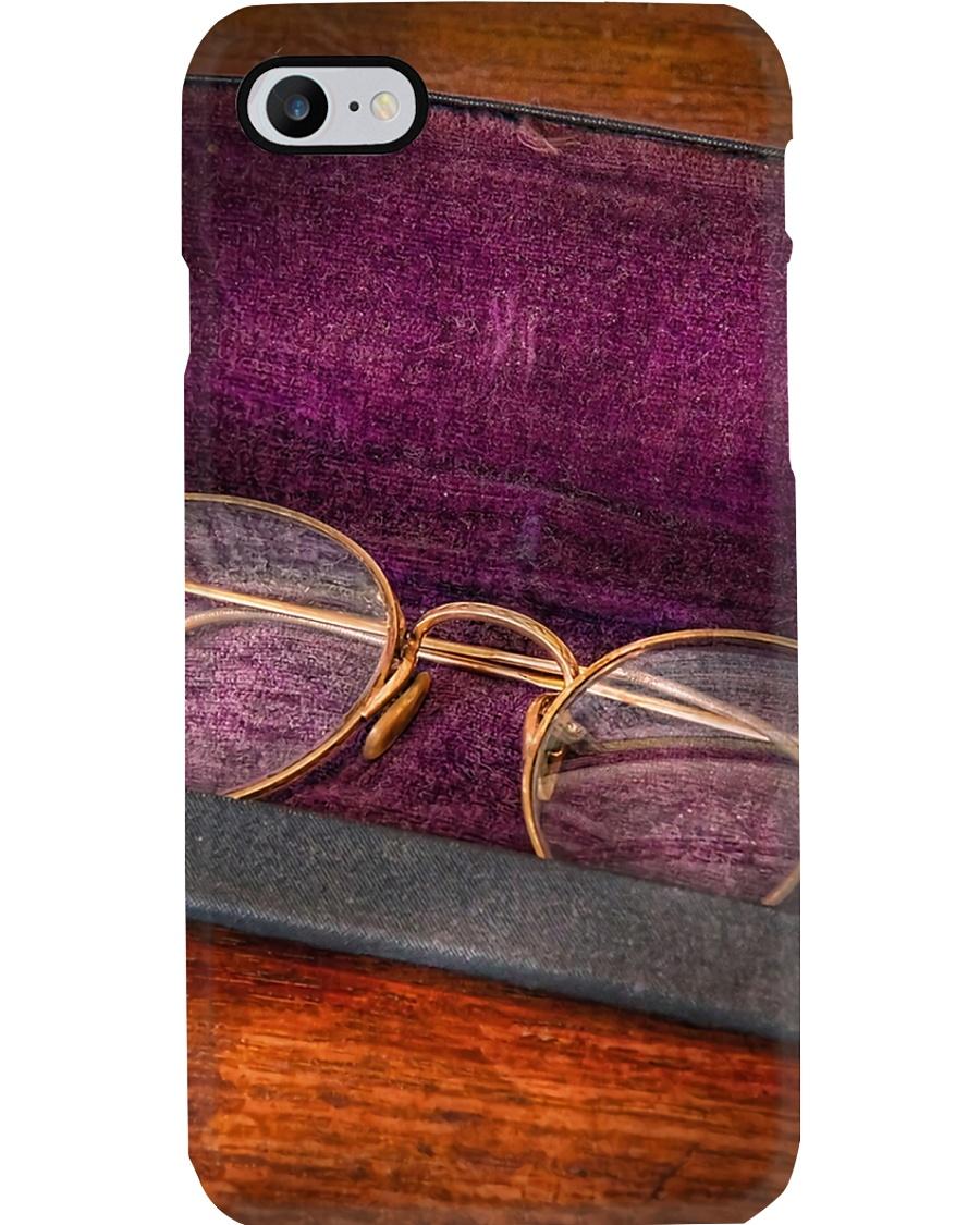 Purple Vintage Glasses Optometrist Phone Case
