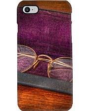 Purple Vintage Glasses Optometrist Phone Case i-phone-7-case