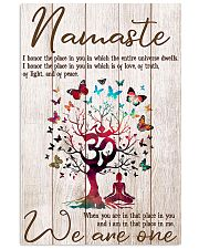 Yoga We are one 11x17 Poster front