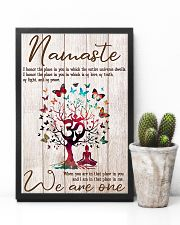 Yoga We are one 11x17 Poster lifestyle-poster-8