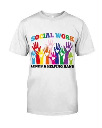 Social Work Lends a helping hand