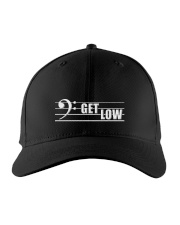 Bass Guitar Get Low Embroidered Hat front