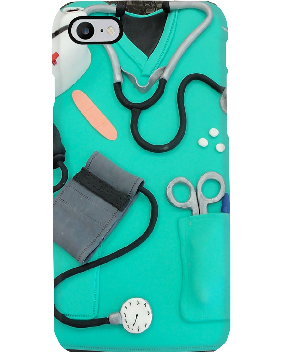 Physician Assistant Scrub Phone Case