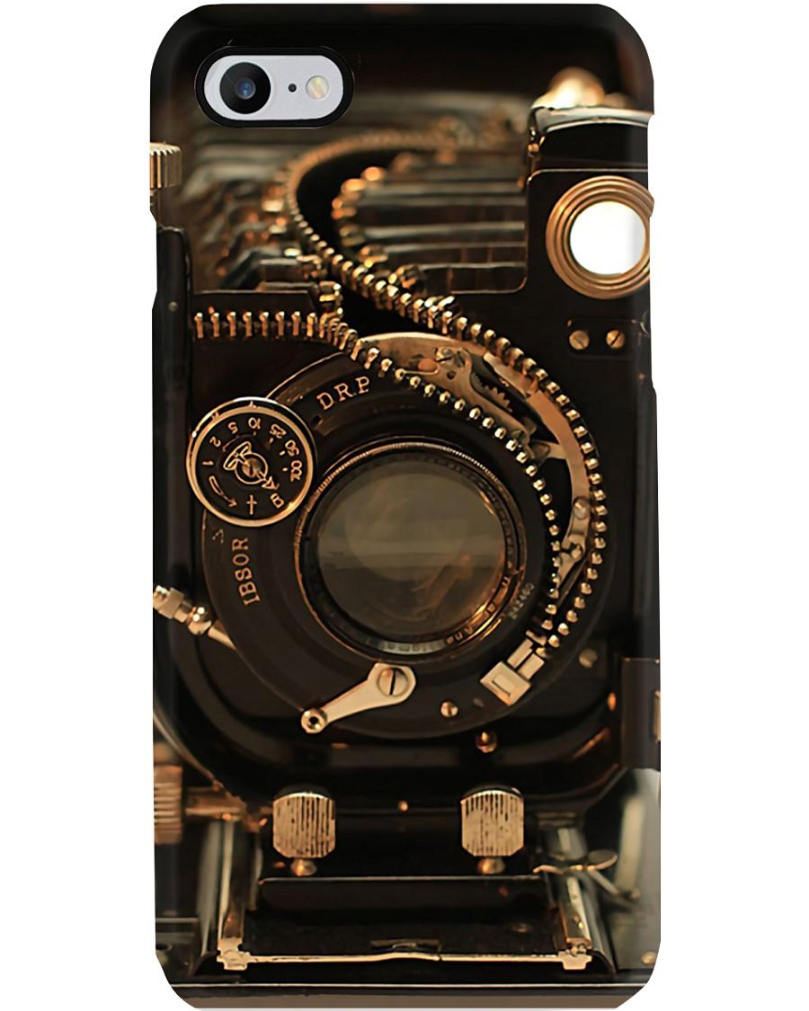 Photographer Vintage Old Camera Phone Case