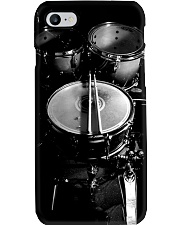 Drummer Gift Black And White Drums Phone Case i-phone-7-case