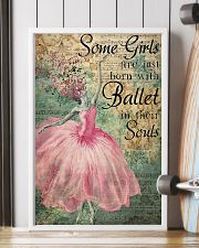Ballet - Some Girls Are Just Born With Ballet 11x17 Poster lifestyle-poster-4
