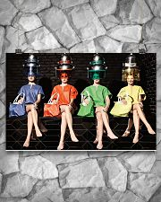 Hairdresser Colorful Women 17x11 Poster poster-landscape-17x11-lifestyle-13