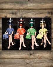 Hairdresser Colorful Women 17x11 Poster poster-landscape-17x11-lifestyle-14