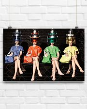 Hairdresser Colorful Women 17x11 Poster poster-landscape-17x11-lifestyle-17