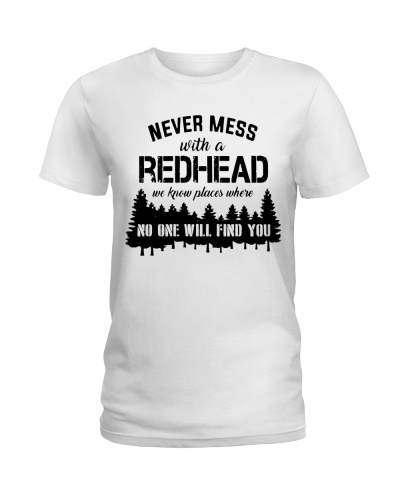 Never mess with a redhead