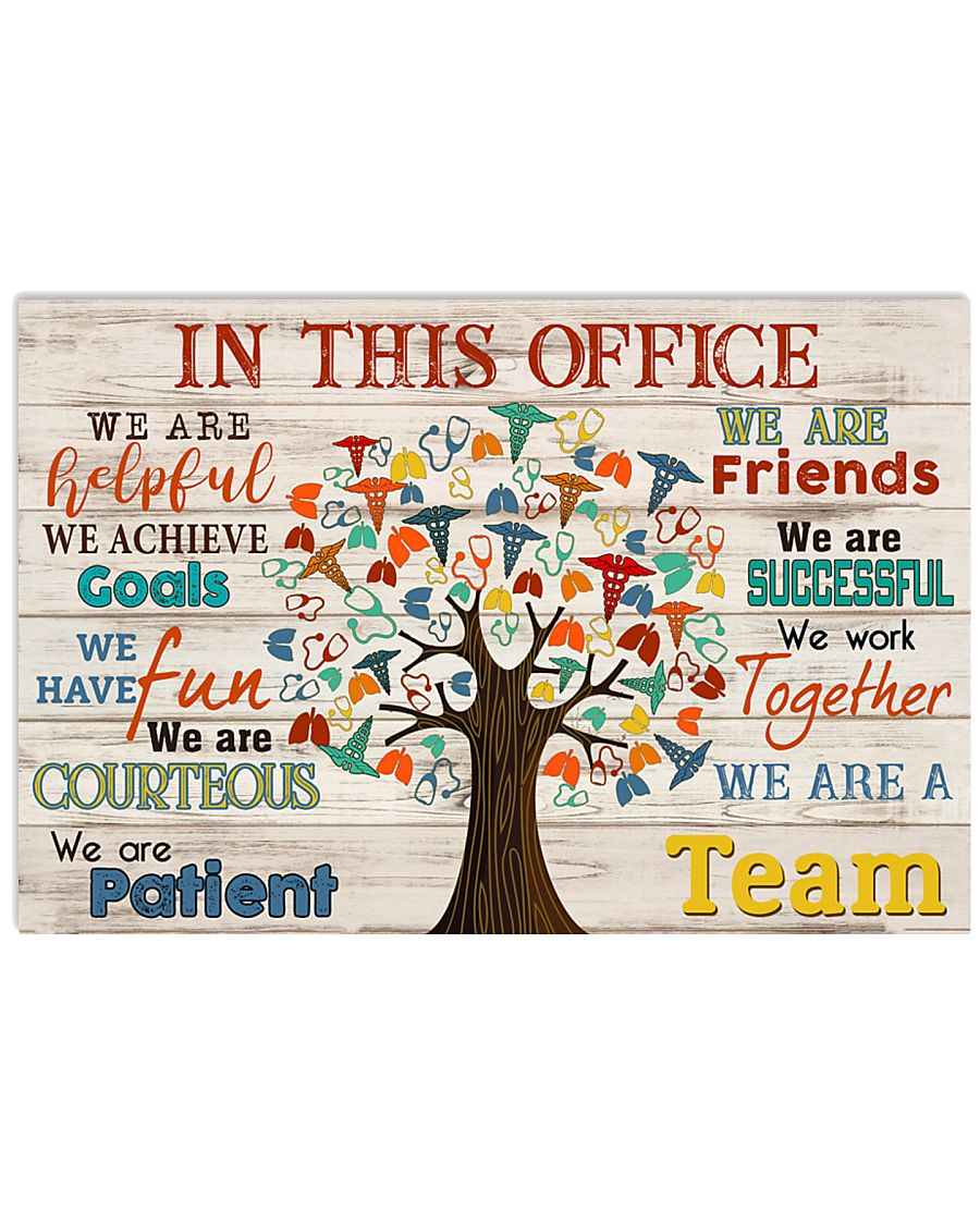 Respiratory Therapist We Are A Team 17x11 Poster