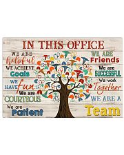 Respiratory Therapist We Are A Team 17x11 Poster front