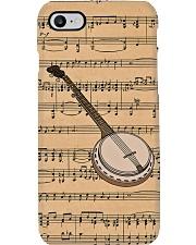 Banjo Music Notes Phone Case i-phone-7-case