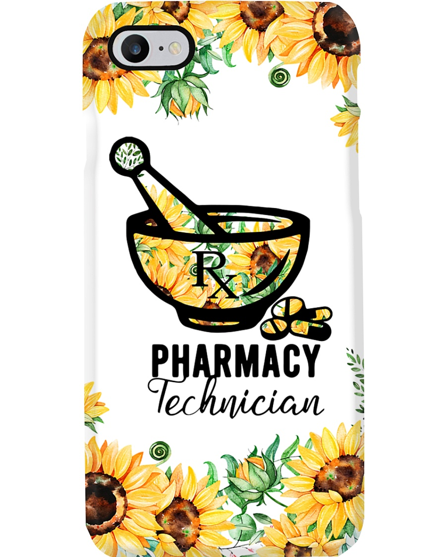 Pharmacy Technician Sunflower Phone Case